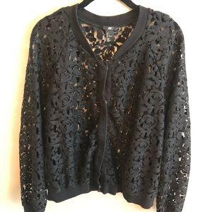 H&M lace cardigan